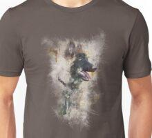 distorted puppy design Unisex T-Shirt