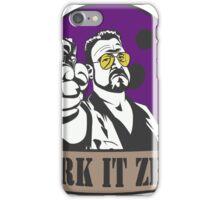 Mark It Zero iPhone Case/Skin