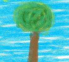 The lonely tree by JuMix