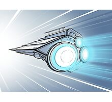Hyperdrive Spaceship Photographic Print