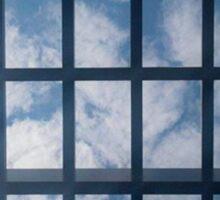Caged Sky Sticker