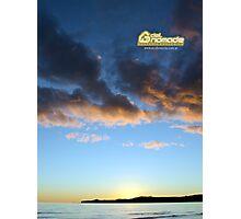 Sunset in Puerto Piramides Photographic Print