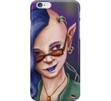 Cyberpunk Elf iPhone Case/Skin