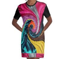 <<Yamborghini High>> Graphic T-Shirt Dress