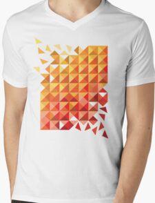 Shattered Gradient Mens V-Neck T-Shirt