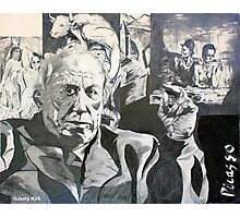 'OLD MAN PICASSO'  Photographic Print