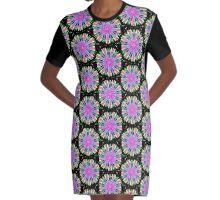 Cool Colours Graphic T-Shirt Dress