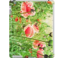 Vintage Poppies iPad Case/Skin