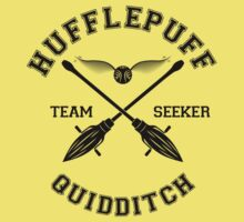 Quidditch - Hufflepuff - Team Seeker by Divum