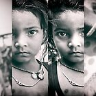 girl with parents, in 4 panels | kolkata, india by handheld-films
