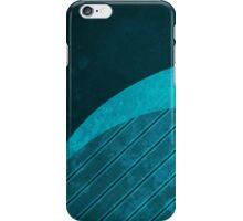 Cyan Stripes iPhone Case/Skin