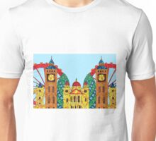 London Icon Building Mozaic Unisex T-Shirt