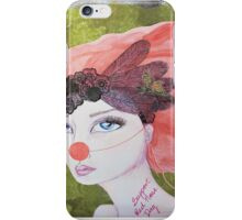 I support Red Nose Day iPhone Case/Skin