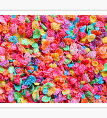 Fruity Cereal Sticker
