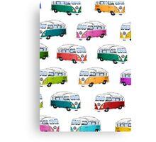 Microbus Canvas Print