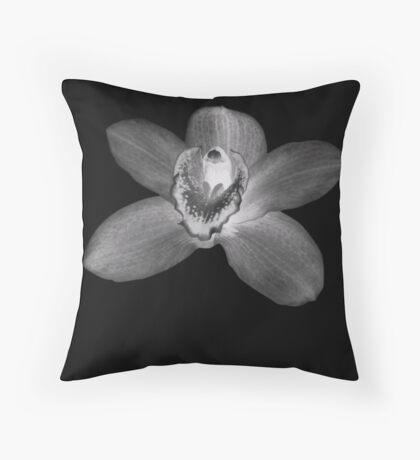 single lilly Throw Pillow