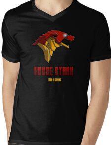 House Iron Stark Sigil and Motto Mens V-Neck T-Shirt