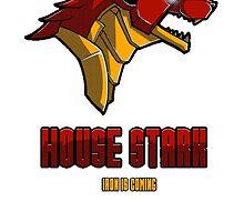 House Iron Stark Sigil and Motto by Mustafa Fardin