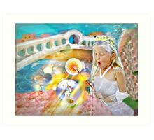 Fairy Magic For The First Time Art Print
