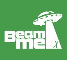 Beam me up V.2.1 (black) Baby Tee