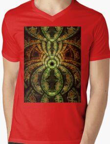 Jungle - Abstract Fractal Artwork Mens V-Neck T-Shirt