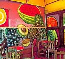 Coctel de Frutas Cafe by phil decocco