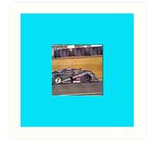 24 h de Le Mans - Vintage - Bentley #7 Art Print