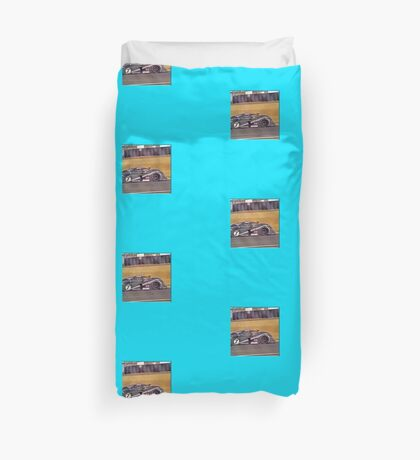 24 h de Le Mans - Vintage - Bentley #7 Duvet Cover