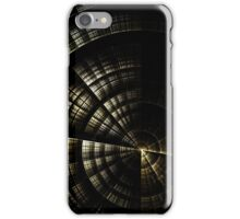 Into the Void  - Abstract Fractal Artwork iPhone Case/Skin
