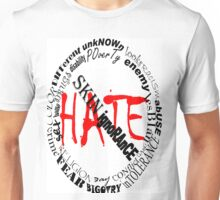 NO MORE HATE Unisex T-Shirt