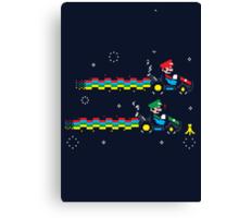 Nyan Kart  Canvas Print