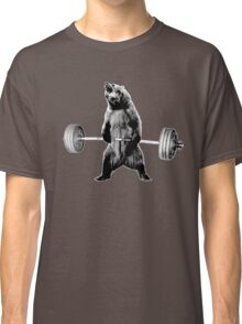 Grizzly Bear Deadlifting Classic T-Shirt