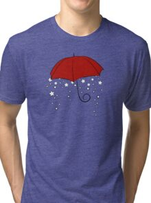 The Magic Red Umbrella Tri-blend T-Shirt