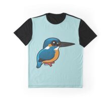 Cute Common Kingfisher by Birdorable Graphic T-Shirt