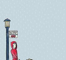 Rain, Rain, Go Away - Illustrated Design by Catie Atkinson