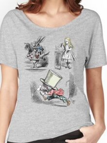 Alice in Wonderland Montage  Women's Relaxed Fit T-Shirt