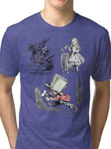 Alice in Wonderland Montage  Tri-blend T-Shirt