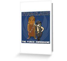 Star Claws Greeting Card