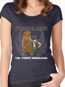 Star Claws Women's Fitted Scoop T-Shirt