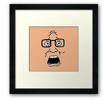 BWAHHHHHHHHH Framed Print