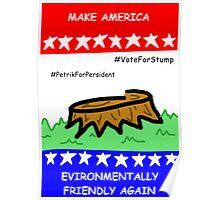 Vote For Stump Poster