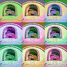 Tubac Bell - Warhol by Judi FitzPatrick