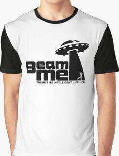 Beam me up V.2.2 (black) Graphic T-Shirt