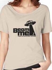 Beam me up V.2.2 (black) Women's Relaxed Fit T-Shirt
