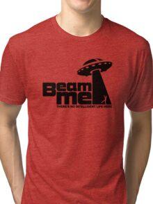 Beam me up V.2.2 (black) Tri-blend T-Shirt