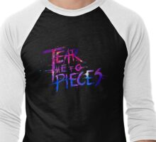 Tear Me To Pieces  Men's Baseball ¾ T-Shirt