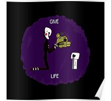 Give Life Poster