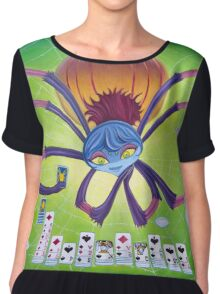 Spider Solitaire Chiffon Top