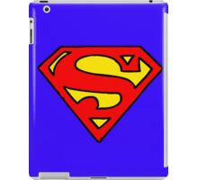 Super hero inital iPad Case/Skin