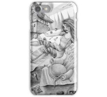 A mad tea-party iPhone Case/Skin